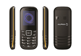 ALPHA D1 Dual Sim Yellow