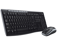 LOGITECH MK270 Wireless Desktop US tastatura + miš