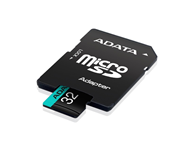 A-DATA UHS-I U3 MicroSDHC 32GB V30S class 10 + adapter AUSDH32GUI3V30SA2-RA1