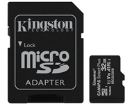 KINGSTON A1 MicroSDHC 32GB 100R class 10 SDCS2/32GB + adapter