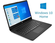 "HP 14-DQ0001 14"" Celeron N4020 4GB 64GB Win10Home crni"
